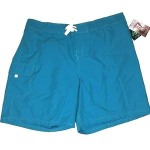 Kanu Surf Marina Quick Dry Board Shorts 3X Blue